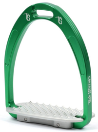 Tech Stirrups stijgbeugel Athena Jumping groen