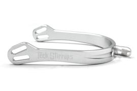 TECH STIRRUPS Florence spur silver