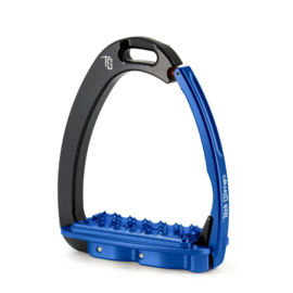 Tech Stirrups Venice FIT adult zwart/blauw