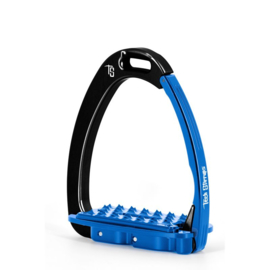 Tech Stirrups VENICE SLOPED EVO zwart/blauw
