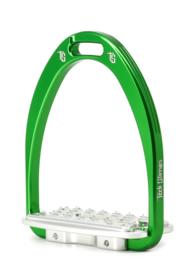 Tech Stirrups stijgbeugel SIENA Jumping groen