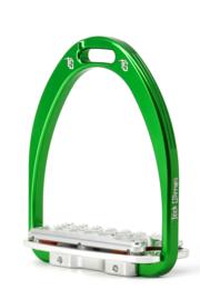 Tech Stirrups Siena Plus jumping groen