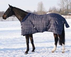 QHP Staldeken luxe met fleece kraag 300 gr.