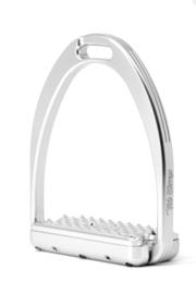 Tech Stirrups  CAPRI dressuur Zilver