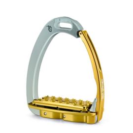 Tech Stirrups VENICE PLUS EVO zilver/goud