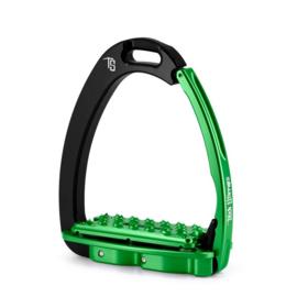 Tech Stirrups VENICE PLUS EVO zwart/groen