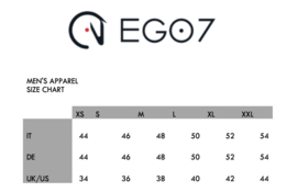 Ego7 Shirt Top-long sleeve for Men wit /wit