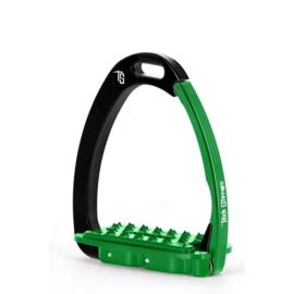 Tech Stirrups VENICE SLOPED EVO zwart/groen