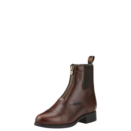 Ariat Dames Bromont Pro Zip Paddock Insulated Chocolate -Bruin