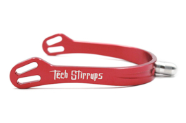 TECH STIRRUPS Florence spur red
