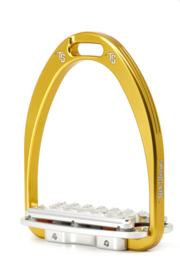 Tech Stirrups Siena Plus jumping goud