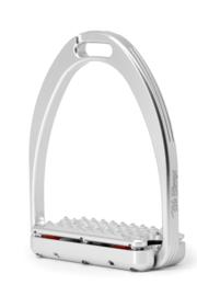 Tech Stirrups Capri PLUS dressuur Zilver