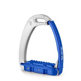 Tech Stirrups VENICE YOUNG EVO Kind zilver/blauw