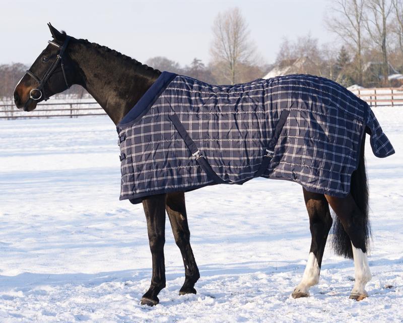 QHP Staldeken luxe met fleece kraag 150 gr.