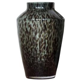 Mooie grijze cheetah vaas