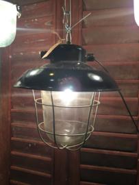 Vintage fabriekslamp/hanglamp