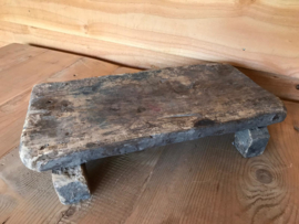 Oude houten bajot