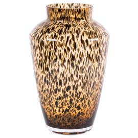 Bruine cheetah vaas