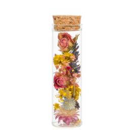 Droogbloemen in flesje