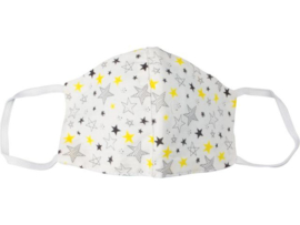 Wasbaar Mondkapje Small Premium Stars
