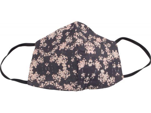 Wasbaar Mondkapje zwart/roze Dames