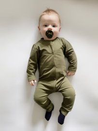 Onesie army green
