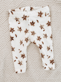 Legging watercolour flower