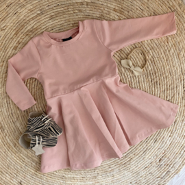 Little basic dress old pink