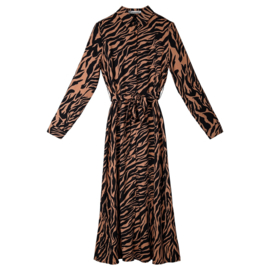 Mom dress animal print