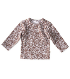 T-shirt leopard brown