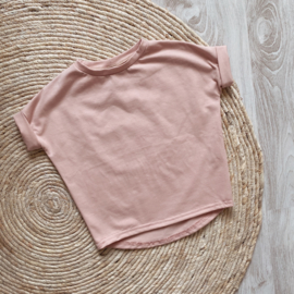 LOOSE FIT TOP OLD PINK