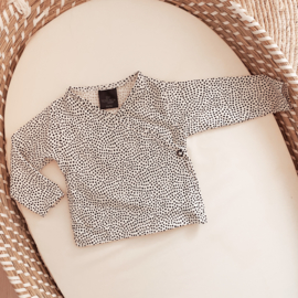 NEWBORN | OVERSLAG SHIRT DOTS