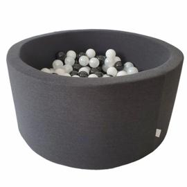 Ballenbak graphite 40 cm hoog incl 200 ballen
