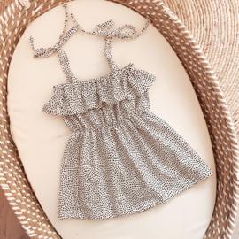 RUFFLE DRESS DOTS