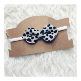 DOTS BOW & WHITE BAND