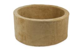Ballenbak | Rib velvet 90x40 cm Sand
