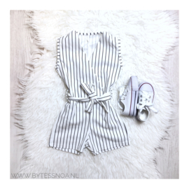 STRIPE JUMPER WHITE