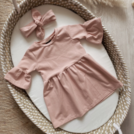EMMA DRESS OLD PINK