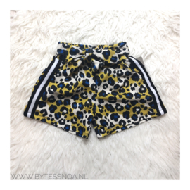 YELLOW LEOPARD SHORT