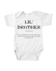 LIL BROTHER ROMPER