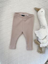 NEWBORN | Legging big rib nude