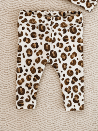 Legging watercolour leopard