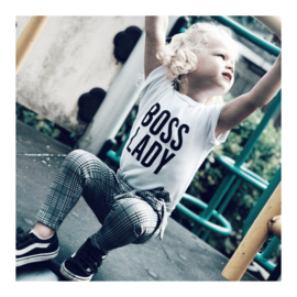 BOSS LADY TEE WHITE