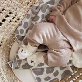 NEWBORN | Legging soft rib sand