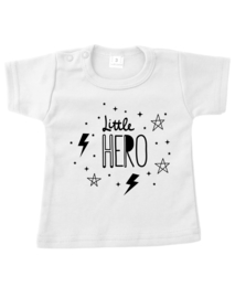 TEE LITTLE HERO LANGE MOUW!