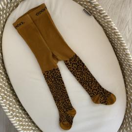 Maillot mustard leopard