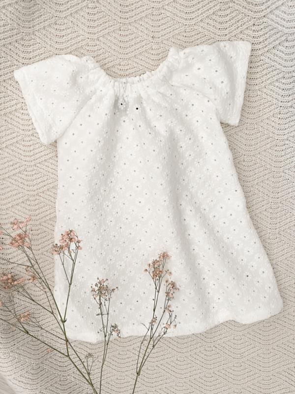 Kiki dress embroidery