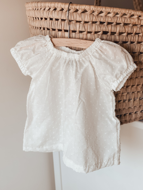 Limited edition | Mila blouse white