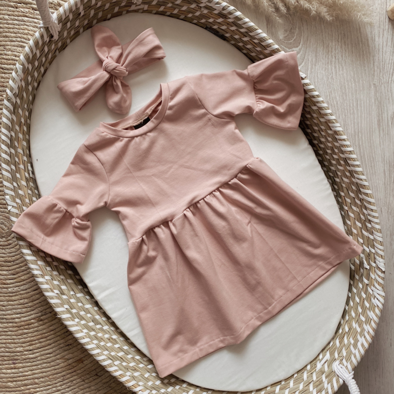 EMMA DRESS OLD PINK