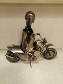 metalen flessenhouder